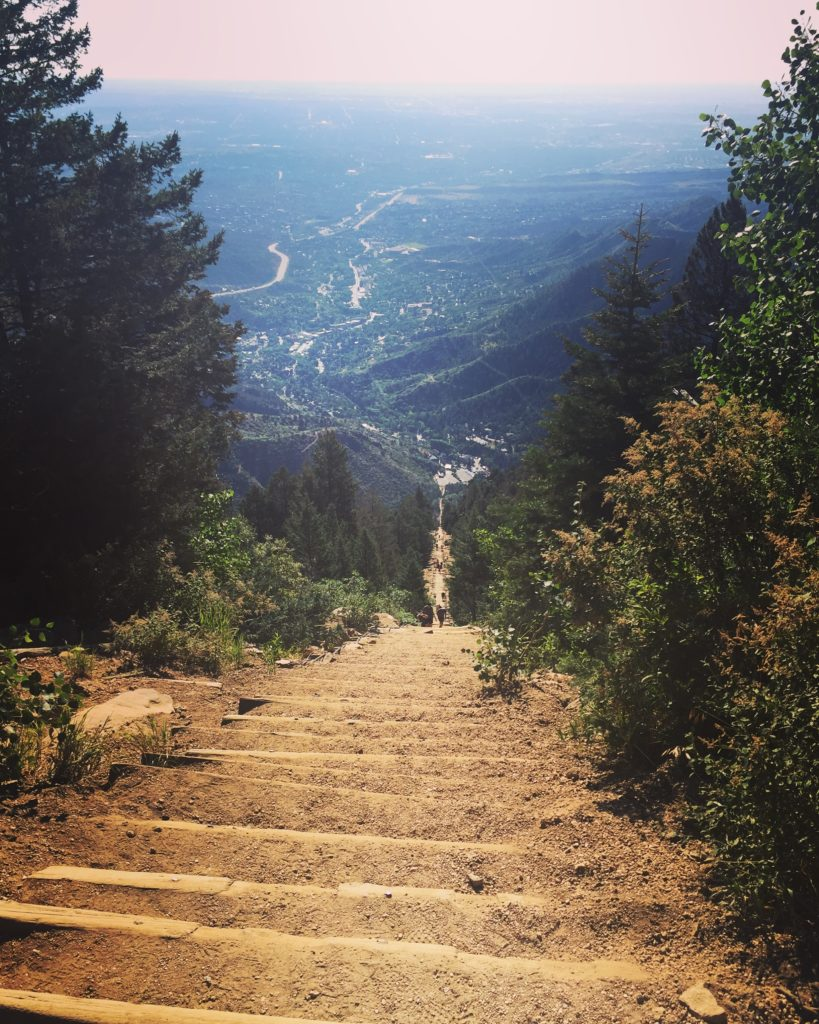 Incline steps